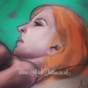 Helen Aldous Life Drawing