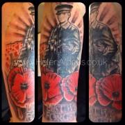 Military tattoo Huddersfield. Helen Aldous