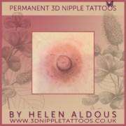 Permanent 3D Nipple Tattoos by Helen Aldous