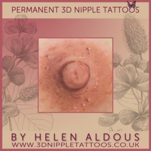 Permanent 3D Nipple Tattoos by Helen Aldous