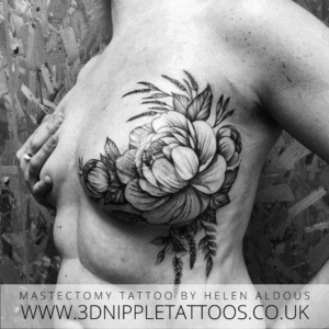 Mastectomy Tattoo Scar Cover Up By Helen Aldous